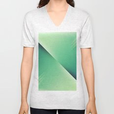 Green loves blue I Unisex V-Neck