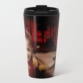 Ava in Red Travel Mug