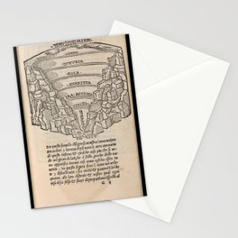 Overview of Hell Stationery Cards