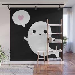 Cutie Ghost Wall Mural