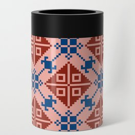 Folk Pattern Can Cooler
