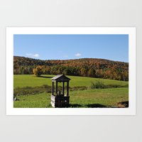 Fall in the Northeast Art Print