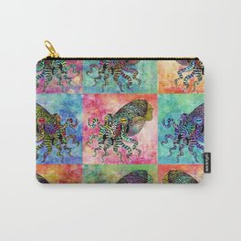 Cuttlefish Patchwork Carry-All Pouch