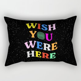 Wish You Were Here: Astro Edition Rectangular Pillow