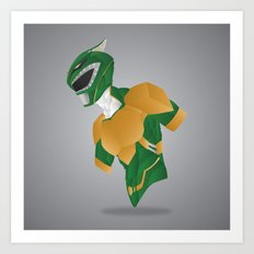 Green Dragon Ranger - Redux Art Print