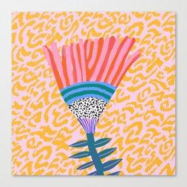 Radicallia Flower Canvas Print
