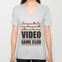 Video Game Club Unisex V-Neck