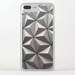 Geometric Patterns at EPCOT Clear iPhone Case