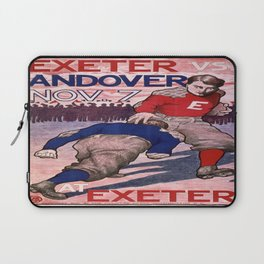 Vintage poster - Exeter vs. Andover College Football Laptop Sleeve