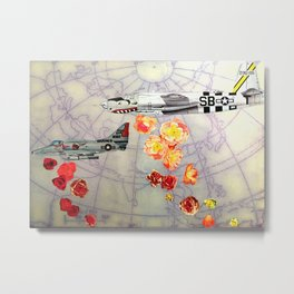 World Rose I Metal Print