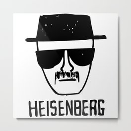 Breaking Bad heisenberg Metal Print