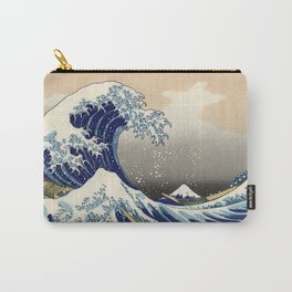 "Katsushika Hokusai ""The Great Wave off Kanagawa"" Carry-All Pouch"