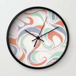 Abstract print design Wall Clock