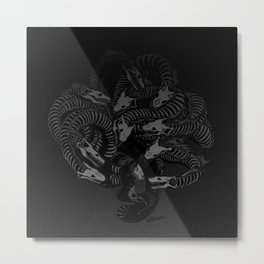 Lonely Hydra Metal Print