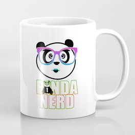Panda Nerd Girl - Rainbow Coffee Mug