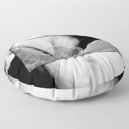 B&W Bubble Fine Art Floor Pillow