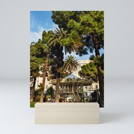 Dream park, Nice France Mini Art Print