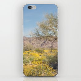 Joshua Tree Wildflowers iPhone Skin