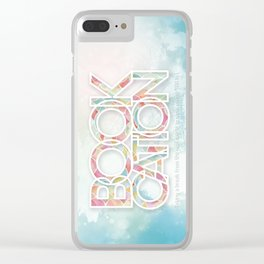 Bookcation Clear iPhone Case