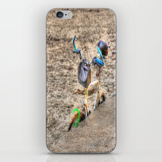 I Like to Ride My Bicycle iPhone & iPod Skin