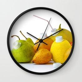Natural Juice Wall Clock