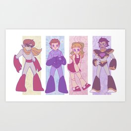 Sons and Daughter Art Print