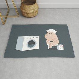 Wool wash Rug