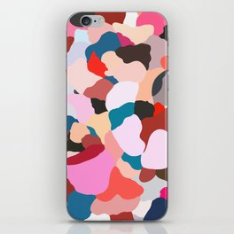petals: abstract painting iPhone Skin