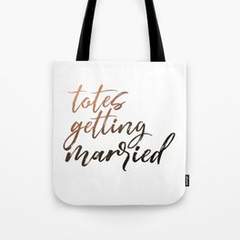 Totes Getting Married Sunset Tote Bag
