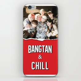 BANGTAN & CHILL iPhone Skin