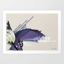 Abstract Shapes Art Print