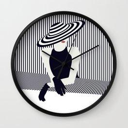 Riviera glamour Wall Clock