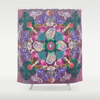 marie antoinette Shower Curtains featuring Marie Antoinette by Talesanura