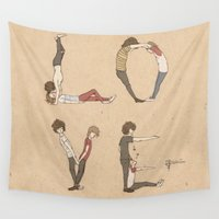 larry Wall Tapestries featuring Love Letters by Meuphrosyne