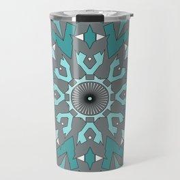 Abstract ethnic pattern. Travel Mug
