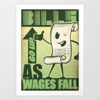 Wealth Divide Art Print