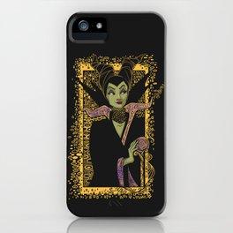 The Dark Faerie iPhone Case