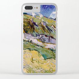 "Vincent van Gogh ""Cottages"" Clear iPhone Case"