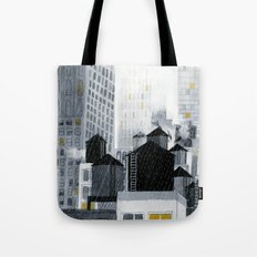 Rainy New York City Tote Bag