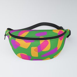 happy pink shapes Fanny Pack