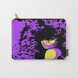 Purple Splatter Carry-All Pouch