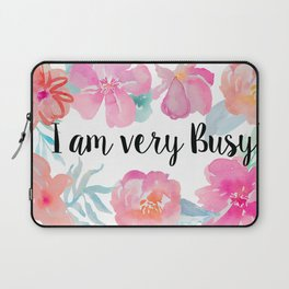 Very Busy  Laptop Sleeve