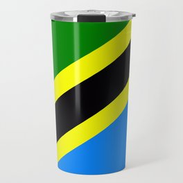 Flag of Tanzania Travel Mug