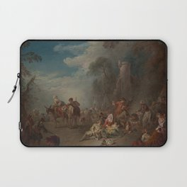 Troops at Rest Laptop Sleeve