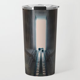 Onward and Upward Travel Mug