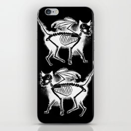 Devil Kitty - inverted iPhone Skin