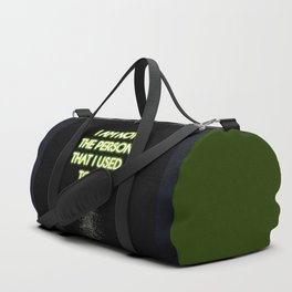 Neon - I am not that person Duffle Bag