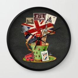 Un jour j'irai à Londres avec toi Wall Clock