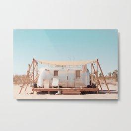 Airstream, Joshua Tree Acres 1 Metal Print