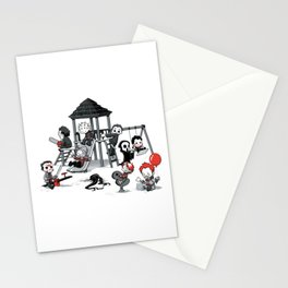 Horror Park Stationery Cards